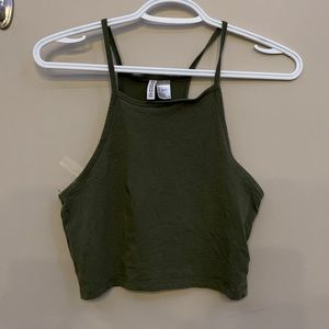 🤍H&M Divided Green Halter Top🤍